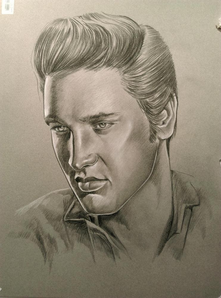 Elvis Presley by m.ortiz